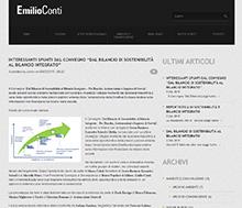 Articolo Emilio Conti